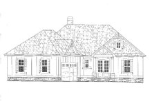 Dream House Plan - Craftsman Exterior - Front Elevation Plan #437-114