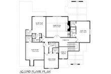 European Floor Plan - Upper Floor Plan Plan #413-891