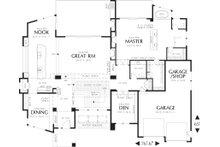 Modern Floor Plan - Main Floor Plan Plan #48-457