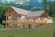Dream House Plan - Modern Exterior - Front Elevation Plan #117-385