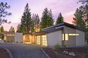 Modern Style House Plan - 2 Beds 2 Baths 2331 Sq/Ft Plan #892-8 Exterior - Other Elevation
