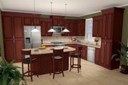 European Style House Plan - 3 Beds 2.5 Baths 2021 Sq/Ft Plan #21-242 Interior - Other