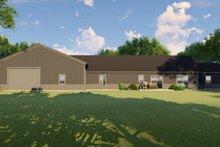 Home Plan - Farmhouse Exterior - Rear Elevation Plan #1064-117