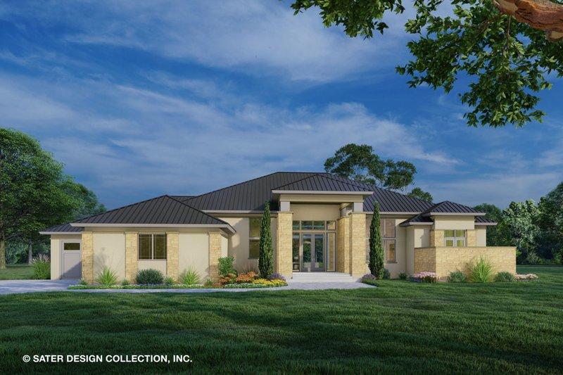 Home Plan - Modern Exterior - Front Elevation Plan #930-518