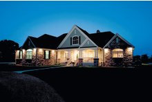 Architectural House Design - Country Exterior - Front Elevation Plan #929-13