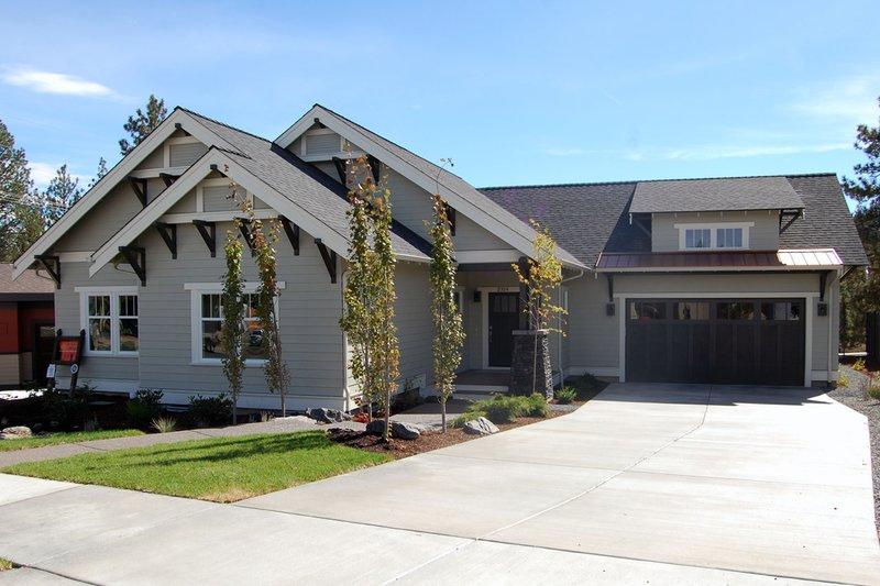 Architectural House Design - Craftsman Exterior - Other Elevation Plan #434-21