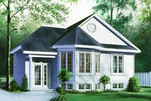 Home Plan - Traditional Exterior - Front Elevation Plan #23-144