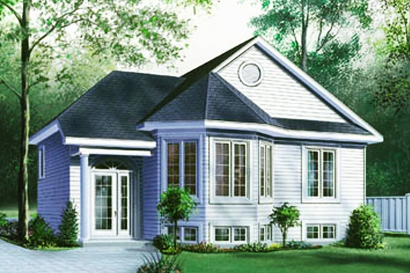Traditional Exterior - Front Elevation Plan #23-144
