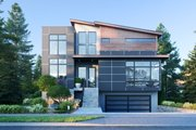 Modern Style House Plan - 6 Beds 3.5 Baths 3261 Sq/Ft Plan #1066-109 Exterior - Front Elevation