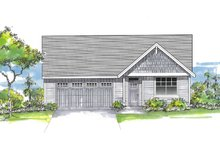 House Plan Design - Craftsman Exterior - Front Elevation Plan #53-661
