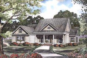 Farmhouse Exterior - Front Elevation Plan #17-457