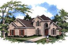 Home Plan - European Exterior - Front Elevation Plan #37-209