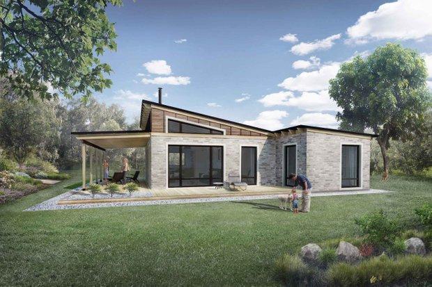 Façade Choices for House Plans