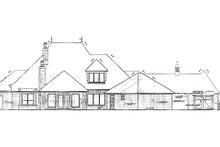 Home Plan - European Exterior - Rear Elevation Plan #310-700