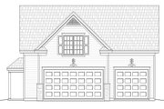 Country Style House Plan - 1 Beds 1 Baths 907 Sq/Ft Plan #932-16 Exterior - Front Elevation