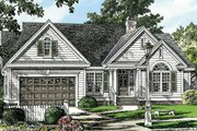 Traditional Style House Plan - 3 Beds 2 Baths 1535 Sq/Ft Plan #929-57 Exterior - Front Elevation