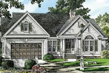 Home Plan - Traditional Exterior - Front Elevation Plan #929-57