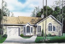 Traditional Exterior - Front Elevation Plan #23-121