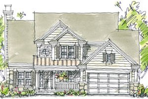 Traditional Exterior - Front Elevation Plan #20-246