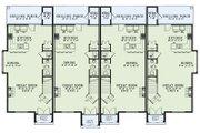 European Style House Plan - 2 Beds 2.5 Baths 1510 Sq/Ft Plan #17-2525 Floor Plan - Main Floor Plan