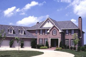Traditional Exterior - Front Elevation Plan #20-1123