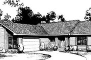 Traditional Style House Plan - 2 Beds 1 Baths 947 Sq/Ft Plan #85-112 Exterior - Front Elevation