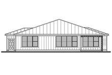 Home Plan - Modern Exterior - Rear Elevation Plan #1073-27