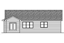 Traditional Exterior - Rear Elevation Plan #51-373