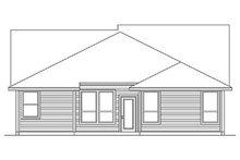 Craftsman Exterior - Rear Elevation Plan #84-266