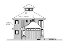 Home Plan - Contemporary Exterior - Other Elevation Plan #23-2020