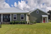 Ranch Style House Plan - 3 Beds 3 Baths 3100 Sq/Ft Plan #1058-173 Exterior - Rear Elevation