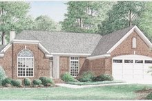 Traditional Exterior - Front Elevation Plan #34-132