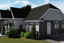 Dream House Plan - European Exterior - Other Elevation Plan #1060-75