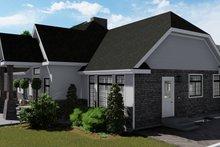 Dream House Plan - European Exterior - Other Elevation Plan #1060-75