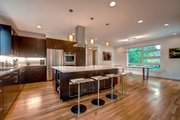 Contemporary Style House Plan - 4 Beds 3.5 Baths 3334 Sq/Ft Plan #1042-19 Interior - Kitchen