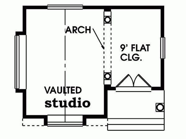 Traditional Floor Plan - Main Floor Plan Plan #47-640