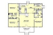 Ranch Style House Plan - 3 Beds 2 Baths 1700 Sq/Ft Plan #44-104