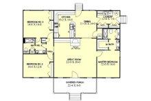 Ranch Floor Plan - Other Floor Plan Plan #44-104