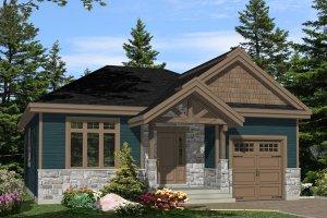 Craftsman Exterior - Front Elevation Plan #138-359