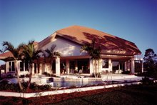 House Plan Design - Contemporary Exterior - Rear Elevation Plan #930-108