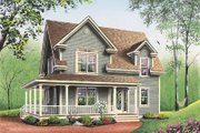 Country Style House Plan - 3 Beds 1.5 Baths 1700 Sq/Ft Plan #23-227