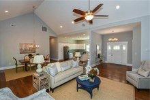 Craftsman Interior - Family Room Plan #119-425