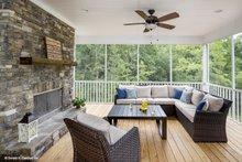 Ranch Exterior - Outdoor Living Plan #929-881