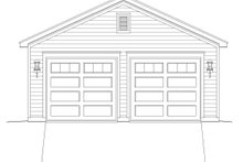 Country Exterior - Front Elevation Plan #932-103