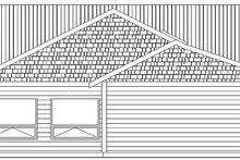 House Plan Design - Country Exterior - Other Elevation Plan #126-218