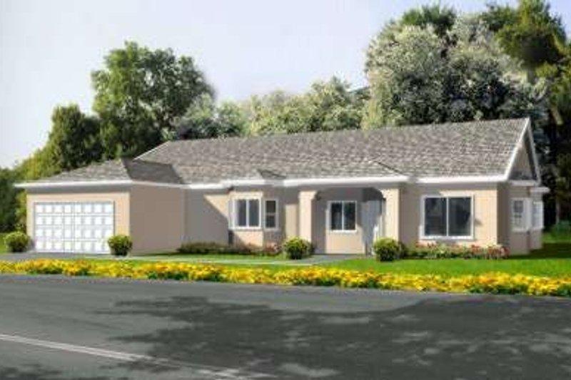 Mediterranean Style House Plan - 6 Beds 3 Baths 2511 Sq/Ft Plan #1-592
