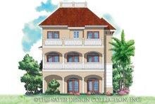 Home Plan - Mediterranean Exterior - Rear Elevation Plan #930-167