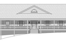 Home Plan - Country Exterior - Front Elevation Plan #932-175