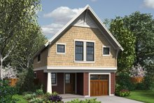 Home Plan - Craftsman Exterior - Front Elevation Plan #48-490