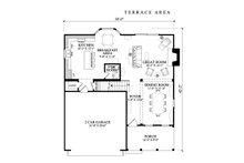 Cottage Floor Plan - Main Floor Plan Plan #137-268